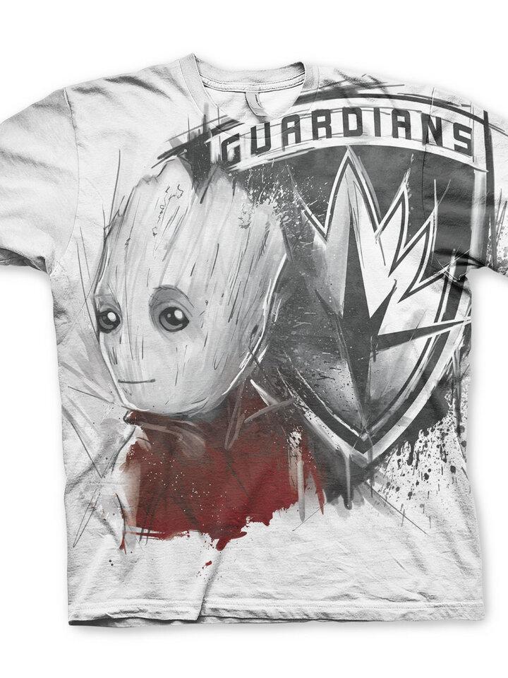Zľava Tričko Strážcovia Galaxie Kreslený Groot