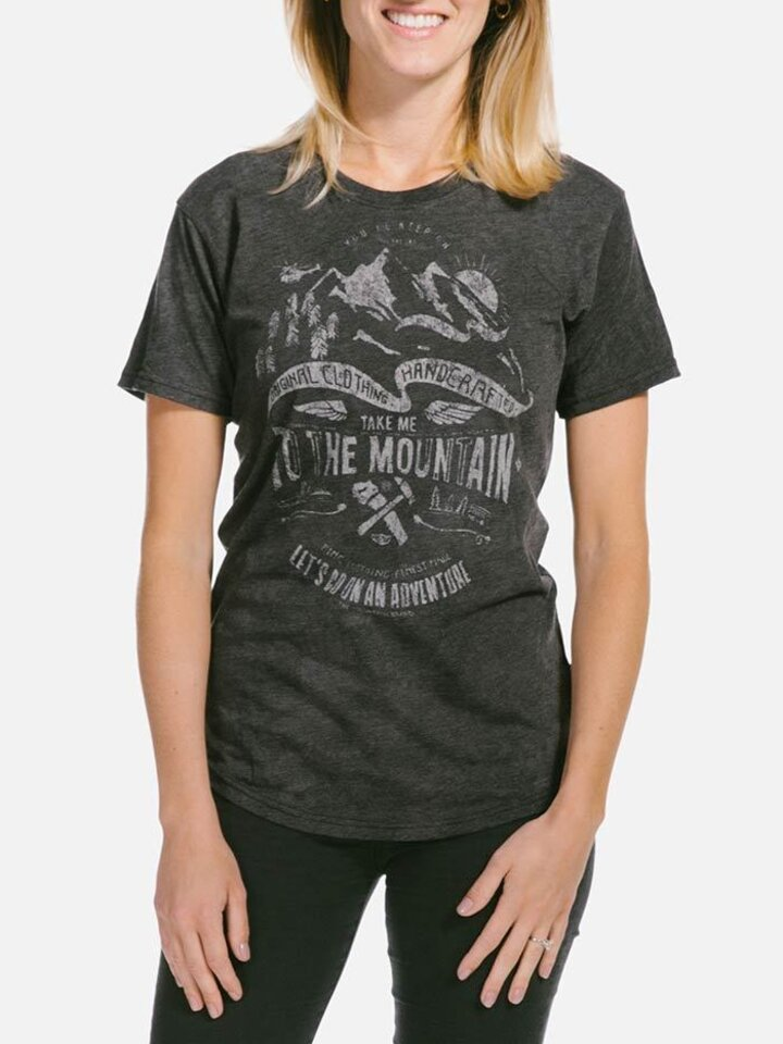 Looking for an original and unusual gift? The gifted person will surely surprise with Ladies' Tri-blend T-shirt Adventure