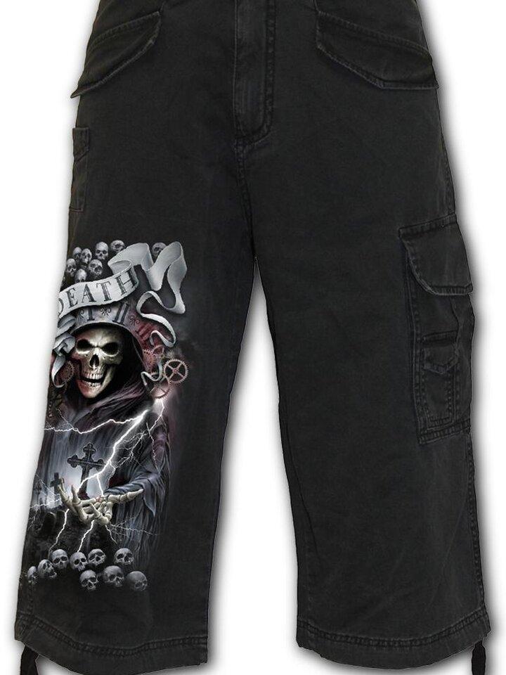 Cadou original de la Dedoles  Pantaloni  trei sferturi bărbați Cavalerii morții