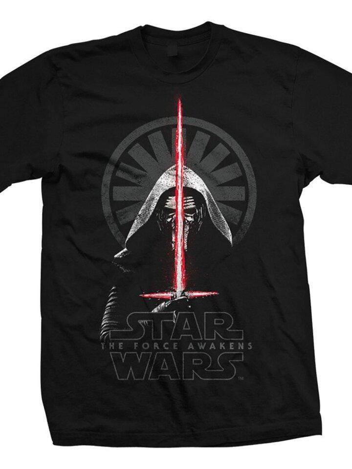 Bereiten Sie sich Freude mit diesem Dedoles-Stück T-Shirt Star Wars Episode VII Kylo Ren Shadows