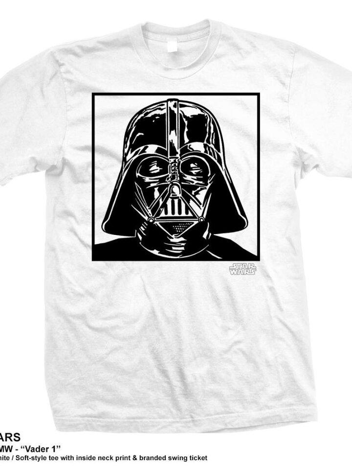 für ein vollkommenes und originelles Outfit T-Shirt Star Wars Vadar 1.