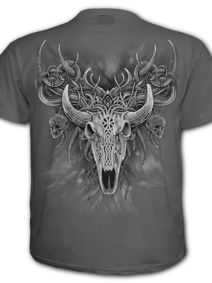 Potešte sa týmto kúskom Dedoles Šedé tričko Duša jeleňa