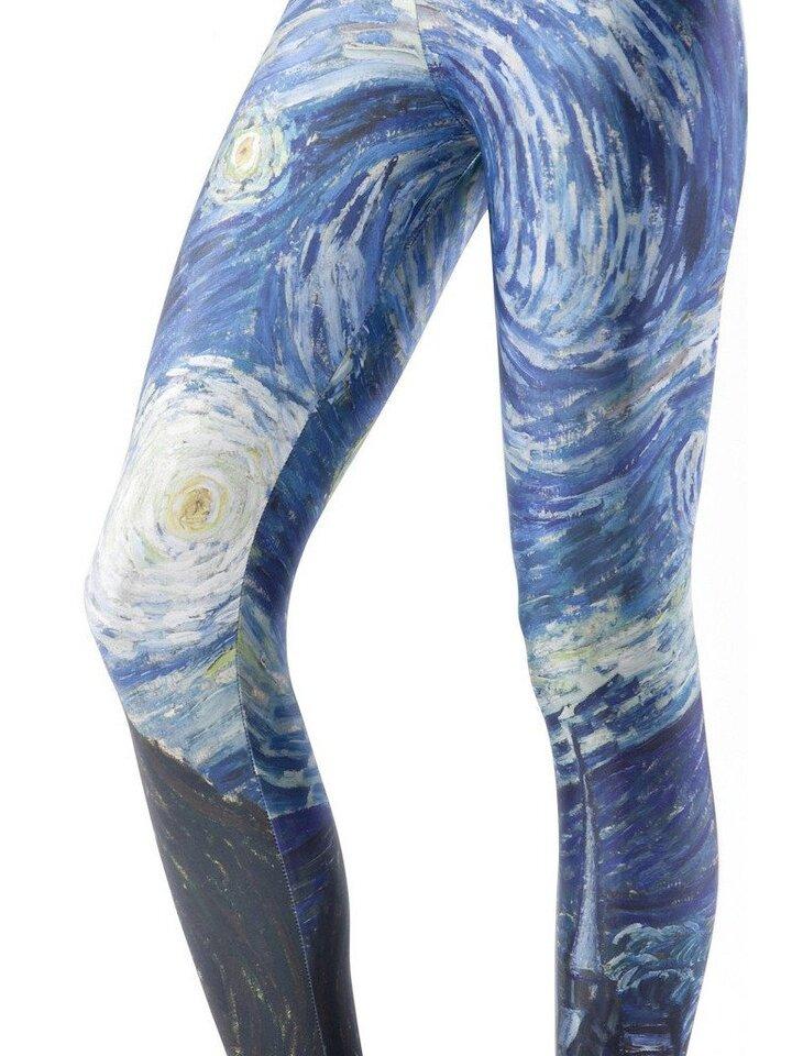 Potěšte se tímto kouskem Dedoles Dámské elastické legíny Hvězdná noc