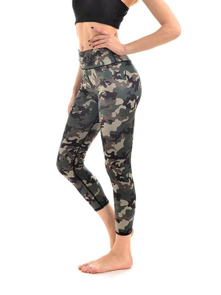 Foto Ladies' Sport Elastic Leggings Camo Design