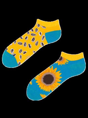 Výprodej Veselé kotníkové ponožky Slunečnice