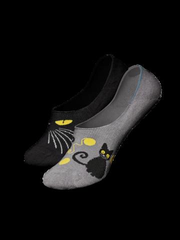 Lifestyle photo No Show Socks Cat Eyes