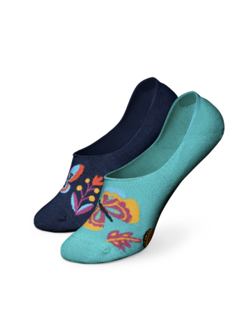 Výnimočný darček od Dedoles Весели невидими чорапи Пеперуди