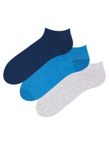 Potešte sa týmto kúskom Dedoles 3 чифта къси чорапи от рециклиран памук Мечтател