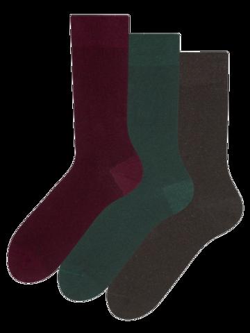 Sale Recycled Cotton Socks 3-pack Gentleman