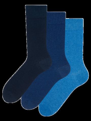 Ausverkauf 3er-Pack Socken aus recycelter Baumwolle Idealist