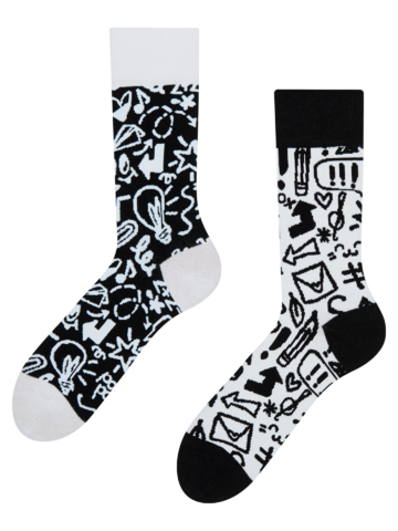 Lifestyle photo Recycled Cotton Socks Doodles