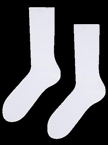 Ajándék tipp Fehér bambusz zokni Komfort