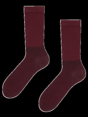 Výjimečný dárek od Dedoles Bordové bambusové ponožky Komfort