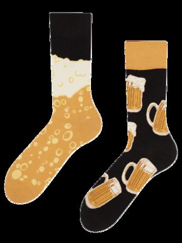 Suchen Sie ein originelles und außergewöhliches Geschenk? überrascht den Beschenkten sicher Lustige Socken Bier vom Fass