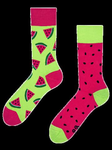 Zľava Veselé ponožky Červený melón