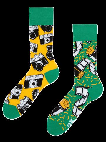 Geschenktipp Lustige Socken Kamera