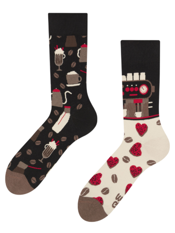 Looking for an original and unusual gift? The gifted person will surely surprise with Regular Socks Coffee Shop