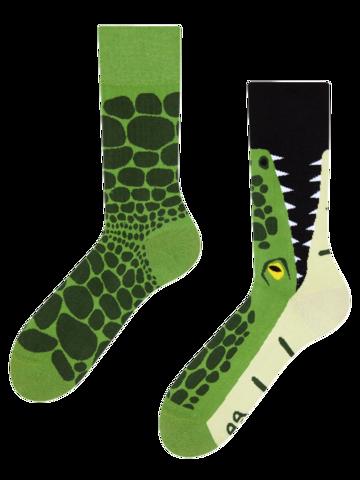 Zľava Vesele čarape Krokodil