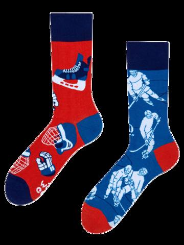 Potěšte se tímto kouskem Dedoles Veselé ponožky Lední hokej