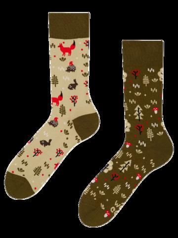 Výnimočný darček od Dedoles Veselé ponožky Líška v lese