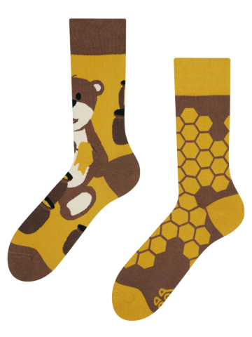 Original gift Regular Socks Honey Bear