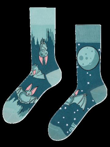 Lifestyle foto Vesele čarape Šišmiši u noći