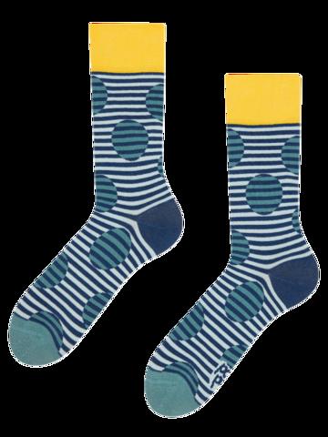 Zľava Veselé ponožky Optická ilúzia