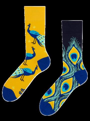 für ein vollkommenes und originelles Outfit Lustige Socken Pfau