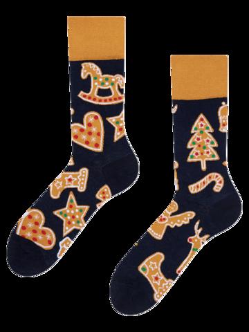 Pre dokonalý a originálny outfit Regular Socks Gingerbread Cookies