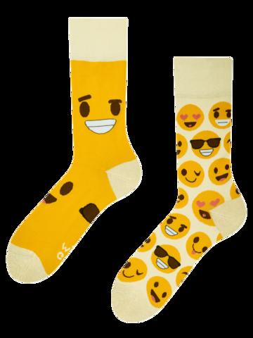 Pre dokonalý a originálny outfit Veselé ponožky Smajlíky