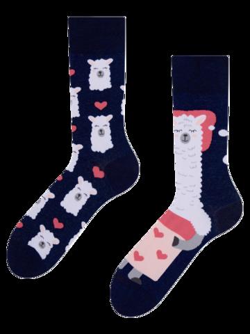 Výjimečný dárek od Dedoles Veselé ponožky Spící lama