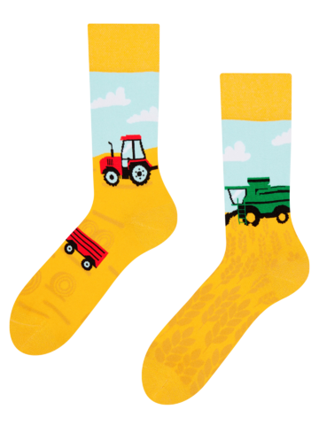 Rabatt Lustige Socken Traktor
