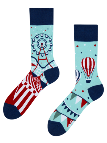 Looking for an original and unusual gift? The gifted person will surely surprise with Regular Socks Theme Park