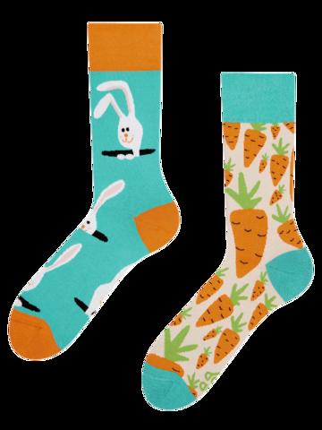 Zľava Veselé ponožky Zajac a mrkva