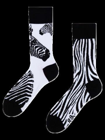 Foto Wesołe skarpetki Zebra