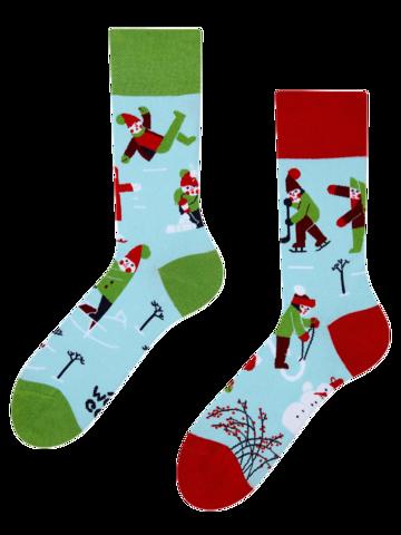 Bereiten Sie sich Freude mit diesem Dedoles-Stück Lustige Socken Winter
