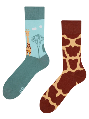 Sale Regular Socks Giraffe