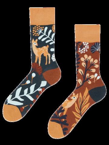 Tip na darček Veselé bambusové ponožky Srnka