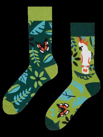 Obrázok produktu Veselé ponožky Vtáčiky z džungle