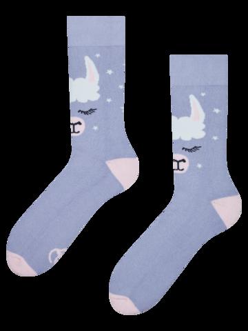 Bereiten Sie sich Freude mit diesem Dedoles-Stück Lustige warme Socken Lama