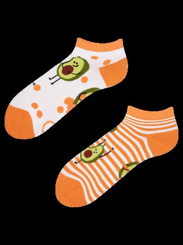 Výpredaj Veselé členkové ponožky Vtipné avokádo