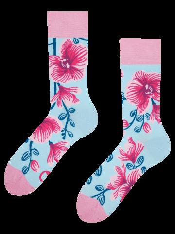 Tip na darček Весели чорапи Орхидея