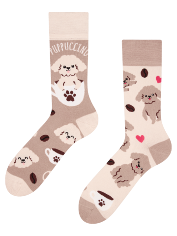 Sale Regular Socks Puppuccino