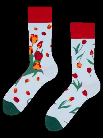 Zľava Veselé ponožky Tulipány