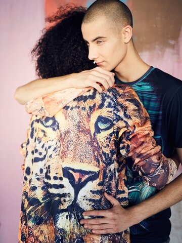 Obrázok produktu Jopica z zadrgo Naslikan leopard