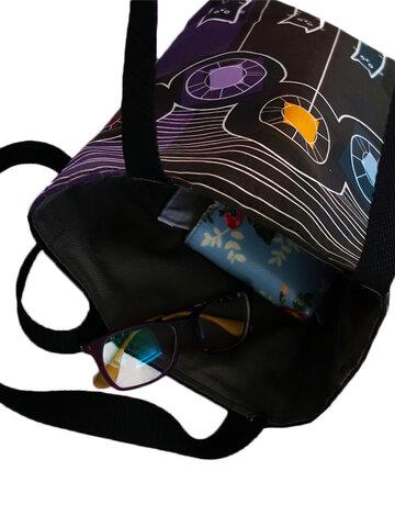 Tip na dárek Taška na rameno Shop - Černá a bílá kočka