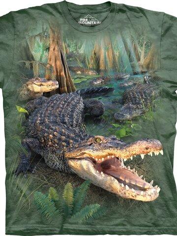 Potešte sa týmto kúskom Dedoles Tričko Zúrivý krokodíl