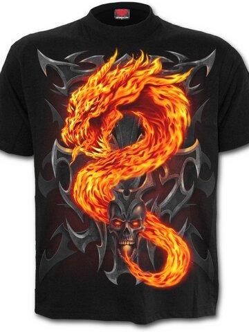 Výnimočný darček od Dedoles Tričko Žiarivý drak