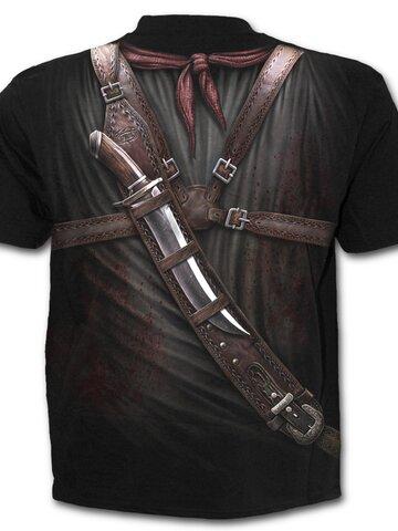 Potešte sa týmto kúskom Dedoles Tričko Zbrane v púzdre