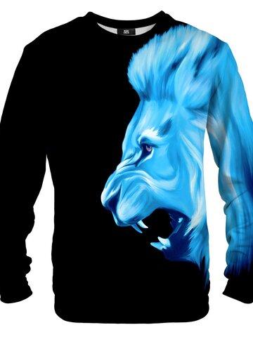 Potešte sa týmto kúskom Dedoles Mikina bez kapucne Ľadový lev